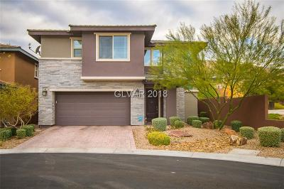 Las Vegas Single Family Home For Sale: 5885 Sky Portal Court