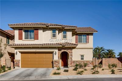 Henderson Single Family Home For Sale: 362 Via Del Salvatore