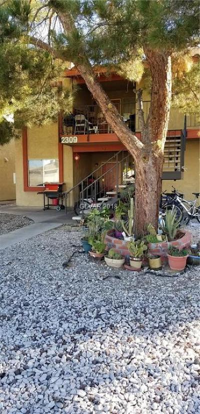 Las Vegas Multi Family Home For Sale: 2309 Jones Boulevard