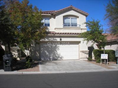 Las Vegas Single Family Home For Sale: 7704 Vista Hills Drive
