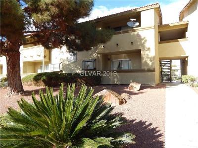 Las Vegas Condo/Townhouse For Sale: 7300 Pirates Cove Road #1100