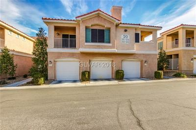 Henderson NV Condo/Townhouse For Sale: $235,000