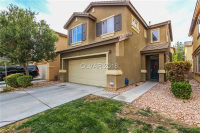 North Las Vegas Single Family Home Under Contract - No Show: 5711 Ancient Agora Street