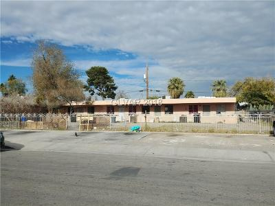 North Las Vegas Multi Family Home For Sale: 3408 Thomas Avenue