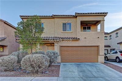 North Las Vegas Single Family Home For Sale: 3525 Terraza Mar Avenue