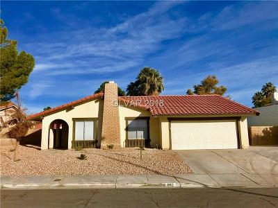Las Vegas Single Family Home For Sale: 982 Pescados Drive