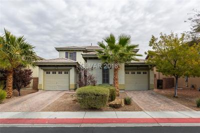 North Las Vegas Single Family Home For Sale: 8208 Opal Falls Street