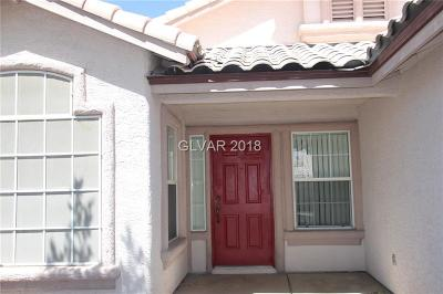 Las Vegas NV Single Family Home For Sale: $299,800