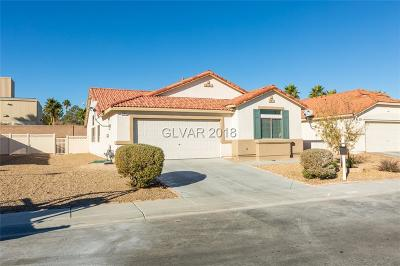 North Las Vegas Single Family Home For Sale: 5709 Wizard Wand Street