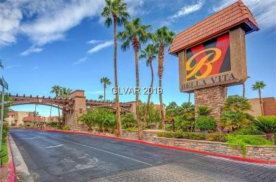 Las Vegas NV Condo/Townhouse For Sale: $145,000