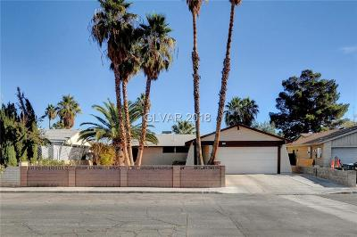 Las Vegas Single Family Home For Sale: 3806 Florrie Avenue