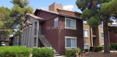 Las Vegas Condo/Townhouse For Sale: 2750 South Durango Drive #1039