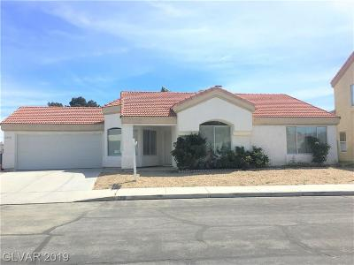 Las Vegas Single Family Home For Sale: 2816 Old Sterling Street