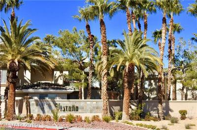 Las Vegas Condo/Townhouse For Sale: 7107 Durango Drive #116