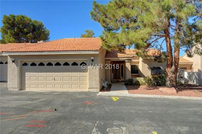 Las Vegas Condo/Townhouse For Sale: 253 Cimarron Road
