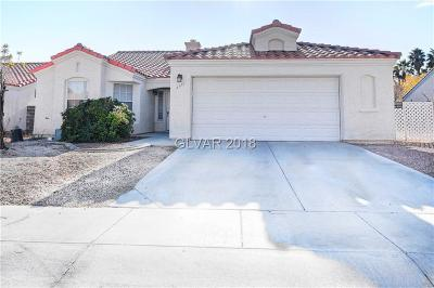 North Las Vegas Single Family Home For Sale: 4113 Herblinda Lane