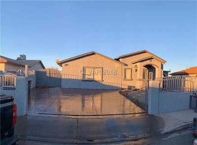 Henderson Single Family Home For Sale: 545 Rolly Street