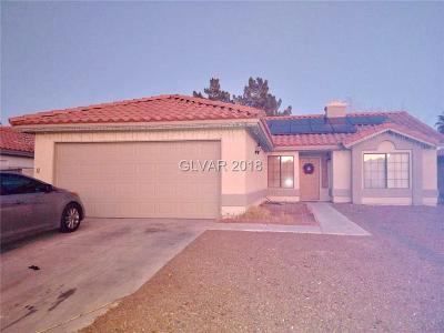 North Las Vegas Single Family Home For Sale: 4434 Ryder Lane
