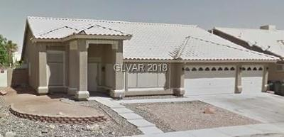 Las Vegas Single Family Home Under Contract - No Show: 1704 Indian Summer Drive