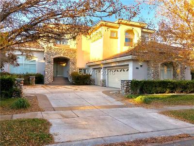 Las Vegas Single Family Home For Sale: 9328 Provence Garden Lane