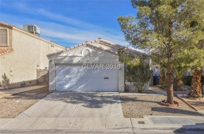 Las Vegas Single Family Home For Sale: 2178 Saint Paul Way