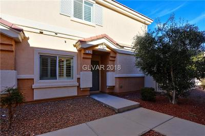 North Las Vegas Condo/Townhouse For Sale: 6044 Emma Bay Court #102