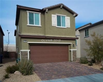 Las Vegas Single Family Home For Sale: 8300 Nebula Cloud Avenue