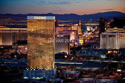 Trump Intl Hotel & Tower-, Trump Intl Hotel & Tower- Las High Rise For Sale: 2000 Fashion Show Drive #3718