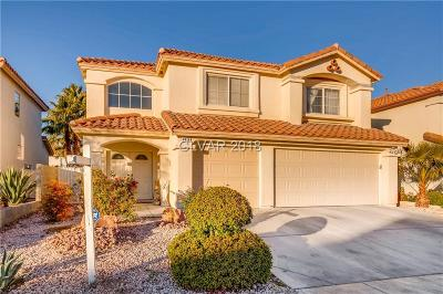Las Vegas Single Family Home For Sale: 8414 Chinook Candy Court
