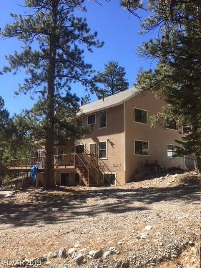 Single Family Home For Sale: 5690 Lee Canyon Road