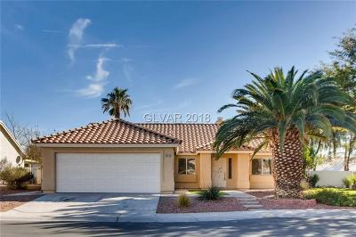 Las Vegas Single Family Home For Sale: 4628 Richins Lane