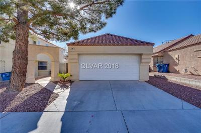 Las Vegas Single Family Home For Sale: 7869 Mt Shasta Circle