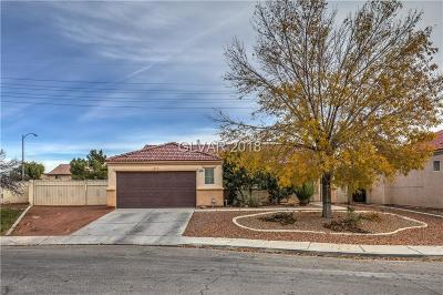 North Las Vegas Single Family Home Under Contract - Show: 6120 Juperana Street