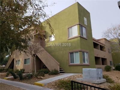 Las Vegas Condo/Townhouse For Sale: 1818 North Decatur #103