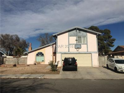 Las Vegas Single Family Home For Sale: 4152 East New York Avenue