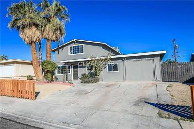 Las Vegas Single Family Home For Sale: 1812 Renada Circle