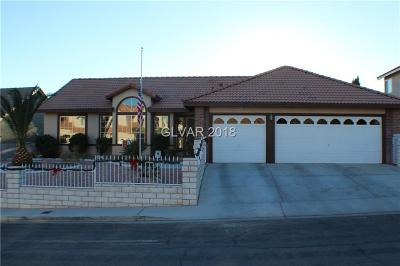 Las Vegas Single Family Home For Sale: 3233 Cutty Sark Street