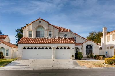 Las Vegas Single Family Home For Sale: 7449 Painted Shadows Way