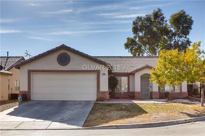 North Las Vegas NV Single Family Home For Sale: $230,000