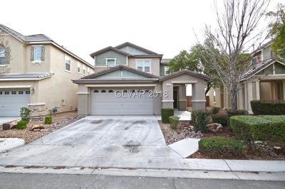 North Las Vegas Single Family Home Under Contract - No Show: 213 Big Cliff Avenue