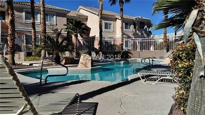 Las Vegas NV Condo/Townhouse For Sale: $218,000