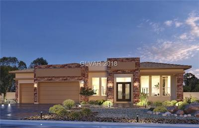 Las Vegas Single Family Home For Sale: 7726 Tioga Ridge Court #LOT 3