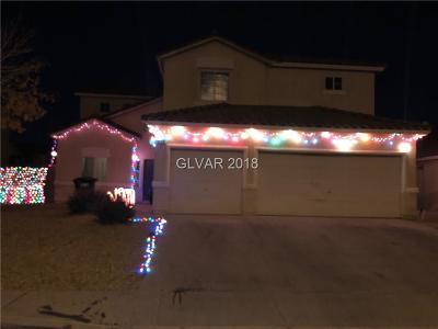 North Las Vegas Single Family Home For Sale: 818 Elliot Park Avenue