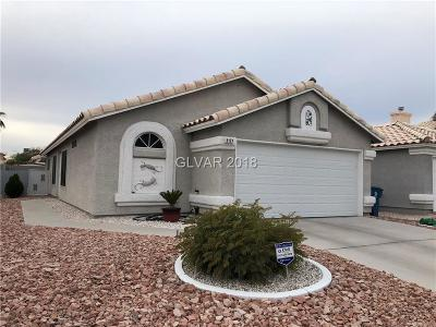 Las Vegas Single Family Home For Sale: 2177 Desert Meadows Way