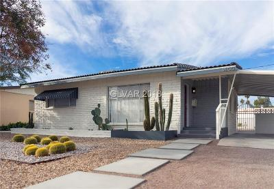 Las Vegas Single Family Home For Sale: 1800 South 9th Street