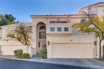 Las Vegas Condo/Townhouse For Sale: 8725 Carlitas Joy Court