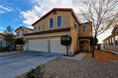 Las Vegas Single Family Home For Sale: 10119 Canyon Hills Avenue