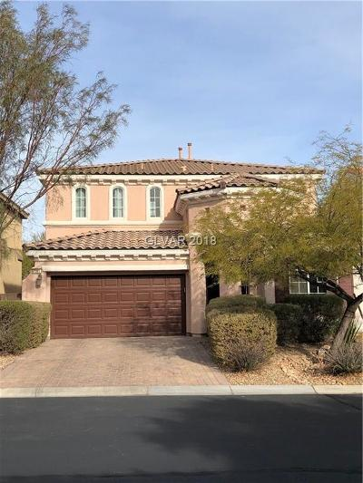 Las Vegas Single Family Home For Sale: 8282 Settlers Inn Court