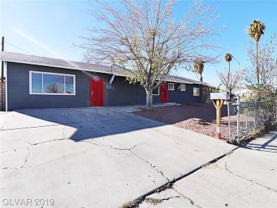 Las Vegas Single Family Home For Sale: 1800 Ginger Tree Lane