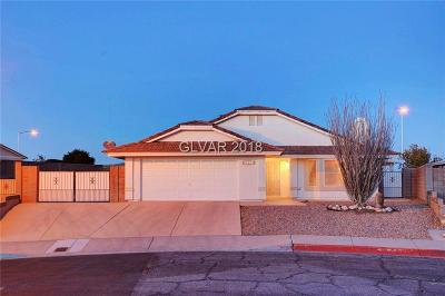 Boulder City Single Family Home For Sale: 1111 Olmo Way